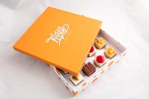 Capdechine tartes & pop boîte entre ouverte