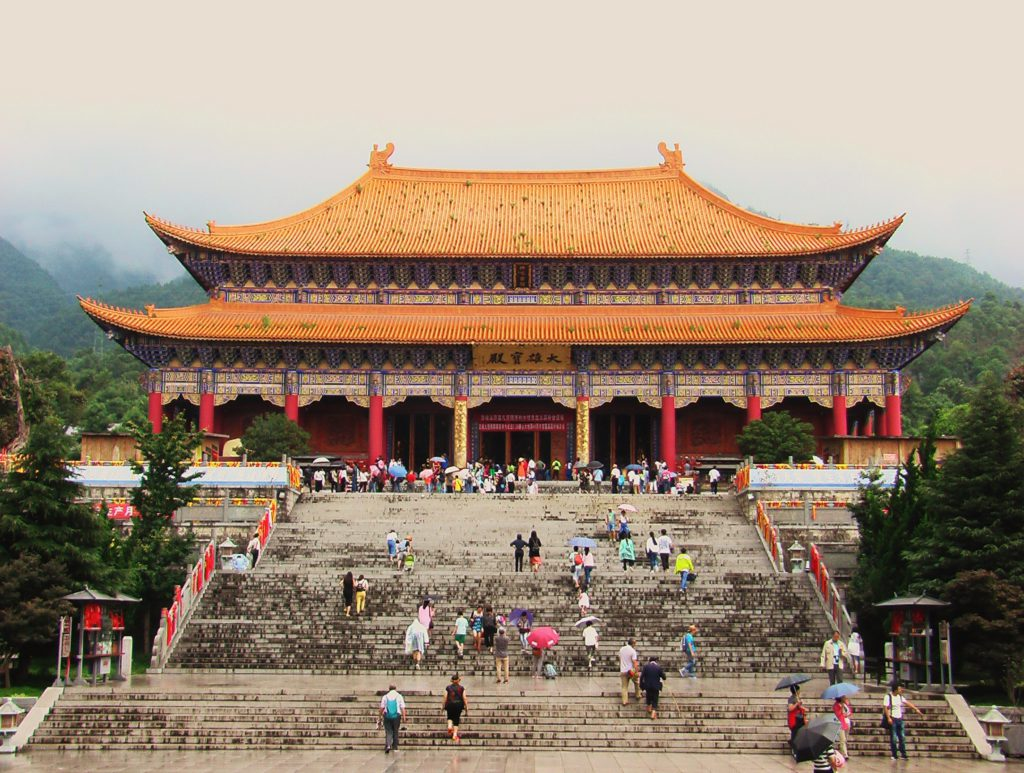 Au sud des nuages Dali les trois pagodes Chongsheng
