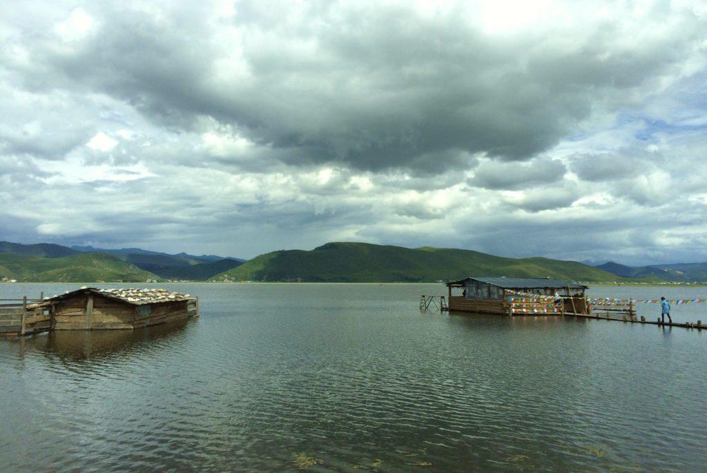 Au sud des nuages Shangri La lac Napa